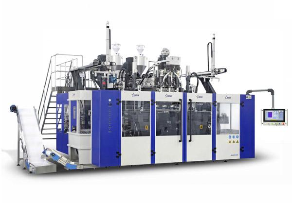 lubricating oil blow molding machine