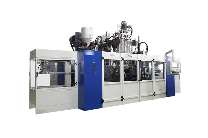 Blow molding machine B20D-900 (2 Stations 4 Cavities)